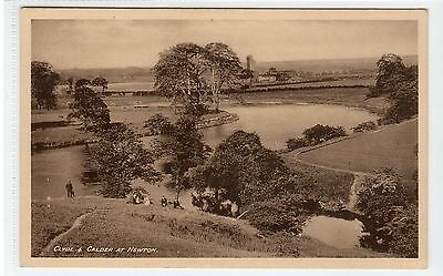 CLYDE & CALDER AT NEWTON: Lanarkshire postcard (C18132)