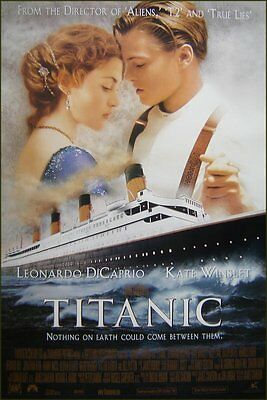 Titanic Original Int 1-Sheet Poster, Revised 'b' Version, Dicaprio, Winslet