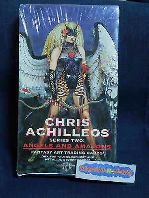Chris Achilleos Series Two: Angels and Amazons Fantasy Art Trading Cards SEALED