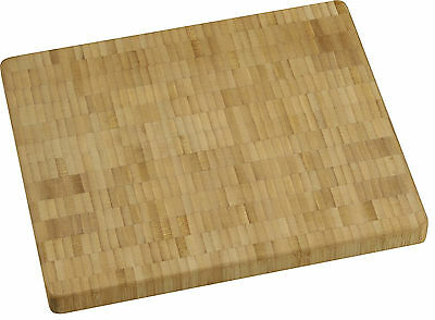 Vance 10 in. x 12 in. 1 inch Bamboo End-Grain Chopping Block | 81012B