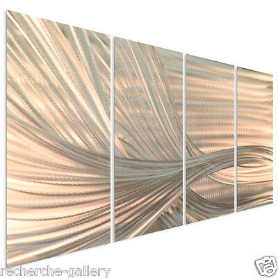 Metal Wall Art Current by Ash Carl Abstract Contemporary Home Deor