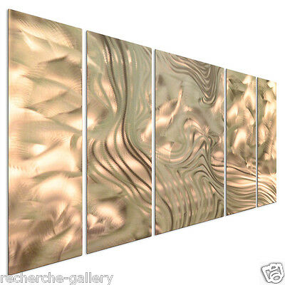 Metal Wall Art Beginnings by Ash Carl Abstract Modern Contemporary Decor