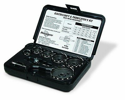 Hougen 14005C Holcutter Electrician's and Fabricator's Kit USA MADE.