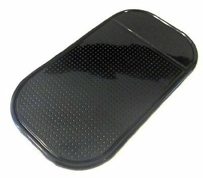 Black Car Dashboard Dash Anti Slip Grip Magic Sticky Mat Phone iPhone Keys NEW
