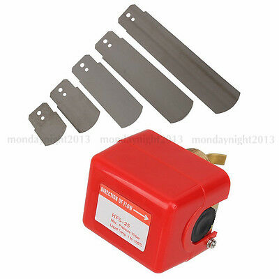 """Male Thread Connecting Water Flow Paddle Control Switch 1"""" 250V AC 15A SPDT"""