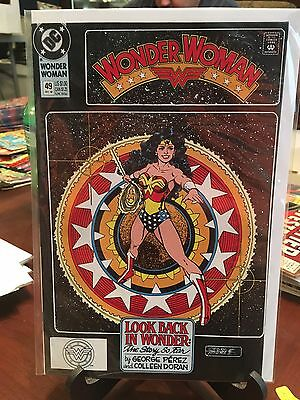 Wonder Woman #49 George Perez! Rare! Good Shape! Fill Your Runs! Justice League!