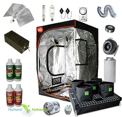 Hydroponics Setup Watering System Grow Tent Nutrients Ventilation All-You-Need