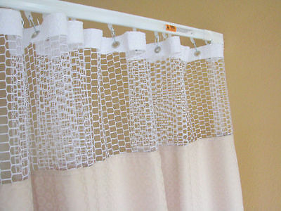 Curtain Nutmeg 144Wx93 HOSPITAL CLINIC LAB Antibacterial Antimicrobial medical