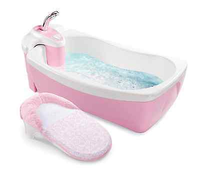 Summer Infant Newborn Baby Child Kid Lil Luxuries Bath Tub, Whirlpool Spa Shower