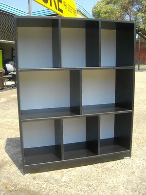 New Australian Made Staggered Pigeonhole Storage Display Bookcase 120 X 90