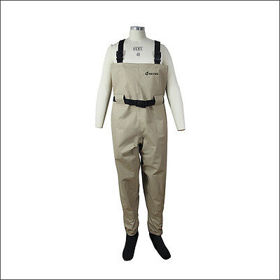 Outdoor breathable fishing/hunting wader, waterproof chest wader for fly fishing