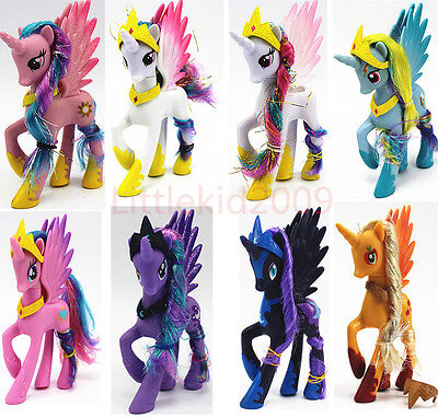 My Little Pony Princess Celestia Twilight Sparkle Luna Moon Kid Toy Gift New