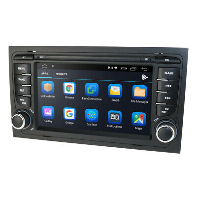 "2DIN Car Stereo CD DVD Player CDC 7"" GPS System CAN-bus for AUDI A4 B6 B7 S4 RS4"