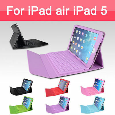 iPad Case Cover Skin with Bluetooth Wireless Keyboard for Apple iPad 2 3 4