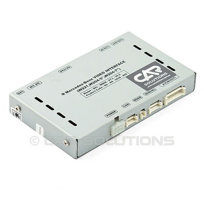 Car Video Interface Multimedia Adapter for Mercedes-Benz W221 / W204 / W212