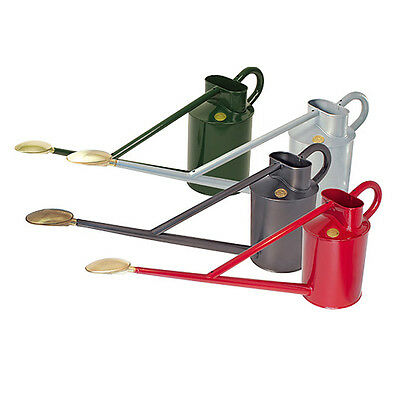 Haws 8.8 Traditional Metal Deluxe Long Reach Outdoor Watering Can Various Colour