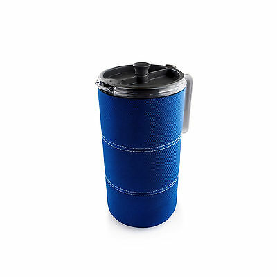 GSI Outdoors 50oz Java Press Blue Portable French Press Coffee Maker Camping