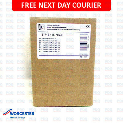 Worcester 28CDI Diverter Valve 87161567460 - GENUINE, NEW & FREE NEXT DAY P&P