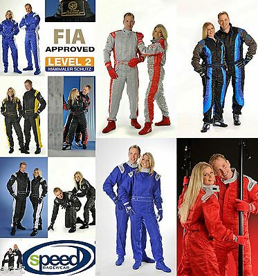 SPEED Racewear Level 2 Kartoverall - Rennsport-Overall - CIK FIA Approved Racing