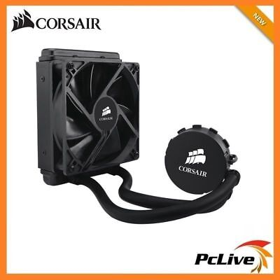 Corsair Hydro H55 Liquid CPU Cooler Fan 120mm Intel 2011 1156 1155 1151 1150 AMD