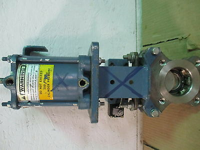 """2 1/2"""" Stainless Knife Gate Valve #5241051D No Tag Cf8M Mwp:100Psi New"""