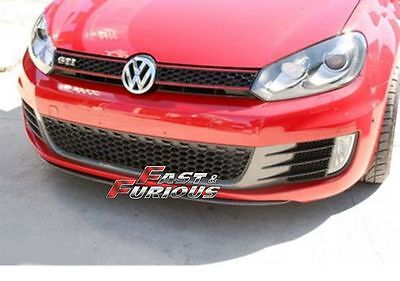 FOR CARBON FIBER VOLKSWAGEN 10-13 VW Golf VI MK6 R20 GTI  Front Lip