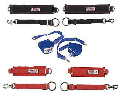 G-Force Racing 4087 Arm Restraints - Red, Blue or Black - SFI 3.3 Adult & Junior