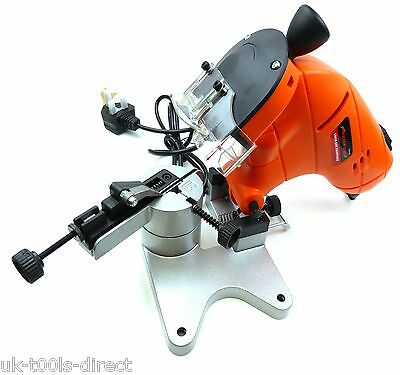 Electric Chainsaw Blade Sharpener Multi All Sizes Pitches Adjustable Instruction