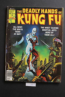 DEADLY HANDS OF KUNG-FU #22 1st cameo JACK OF HEARTS Giffen White Tiger FNVF 7.0