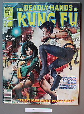 Deadly Hands Kung-Fu #32 1st DAUGHTERS of the DRAGON 1977 IRON FIST Netflix VGFN