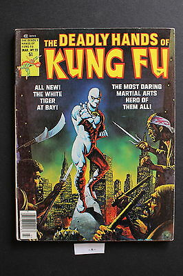 DEADLY HANDS OF KUNG-FU #22 1st cameo JACK OF HEARTS Giffen White Tiger FINE 6.0
