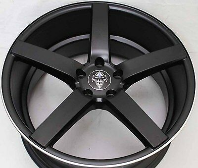 20 inch GENUINE HRS BLACK WIDOW WIDE PACK ALLOY WHEELS WITH NEW TYRES