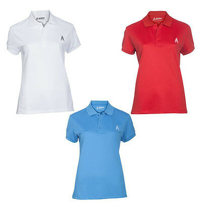 Womens Golf Polo Shirt by Royal and Awesome 3 Colours Sizes S - XXL Ladies Top
