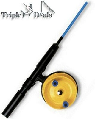 New Alvey 5ft 2 Pce Fishing Rod and Reel Combo - 2-4kg Junior Combo with Line