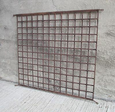 Antique Interwoven Latticework Metal Screen Door Guard (#2)