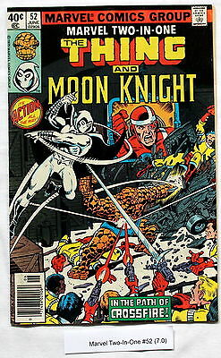 Marvel Two-In-One 52 PEREZ Moon Knight 1979 1st William Cross CROSSFIRE FNVF 7.0