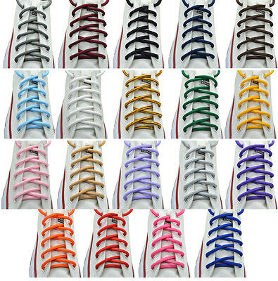 "Round Shoelace 27"",36"",45"",54"",63"" 19 Color Sneakers Shoelaces"