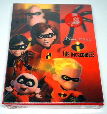 The Incredibles (Blu-ray) Type B1 STEELBOOK / 1,300 copies Limited / Region A