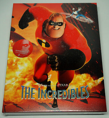 The Incredibles (Blu-ray) FULL SLIP STEELBOOK / 1,400 copies Limited / Region A