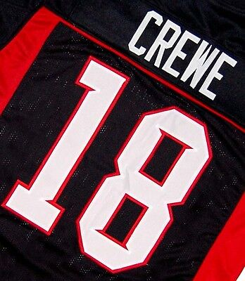 MEAN MACHINE LONGEST YARD MOVIE Jersey PAUL CREWE BLACK SEWN NEW ANY SIZE 798481d39