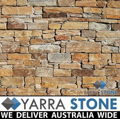 Stack Stone Wall Cladding / Stacked Stone / Natural Stone-Stirling Gold