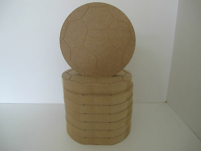Wooden Football Freestanding 18mm Thick Large