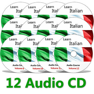 Learn to speak Italian - Complete Language Training Course on 12 AUDIO CDs 8