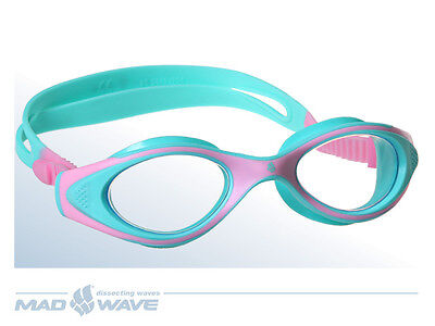 Mad Wave Flame Junior Goggles - Pink