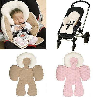 Newborn Baby Car Seat Stroller Cushion Pad Liner Mat Head Body Support Pillow