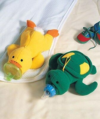 Cute Lovely Turtle or Duck Baby Feeding Bottle Protect Warm Cover Bag