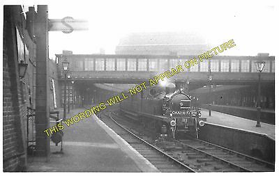 NLR. Hackney to Poplar Bow Railway Station Photo Devons Road 6 Old Ford