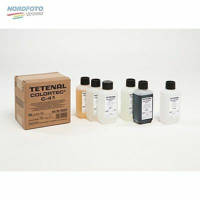 TETENAL Colortec C-41 Kit Rapid 2-Bad 1 Liter