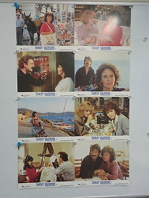 Shirley Valentine (1989) Lobby Card Front Of House Cards Set of 8 Rare