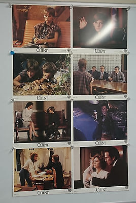 The Client (1994) Lobby Card Front Of House Cards Set of 8 Rare
